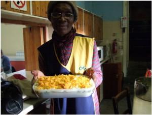 Community Kitchen worker