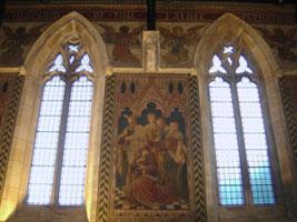 Chancel murals