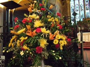 Flowers At St Martin S St Martin S Church Leeds